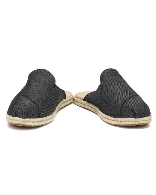 c2510a6ecce4e Black Denim Women's Nova Slip-on Espadrilles