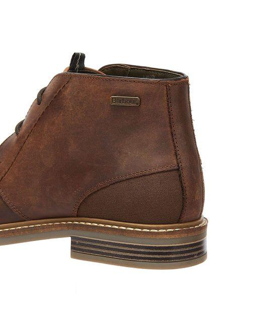 Barbour Brown Mens Redhead Tan Boots for men
