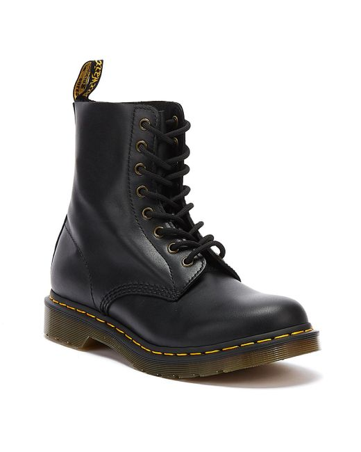 Dr. Martens Dr. Martens 1460 Pascal Wanama Womens Black Boots