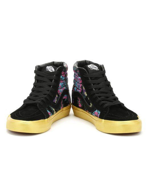 Sk8-hi Reissue Festival Satin Womens Black Sneakers