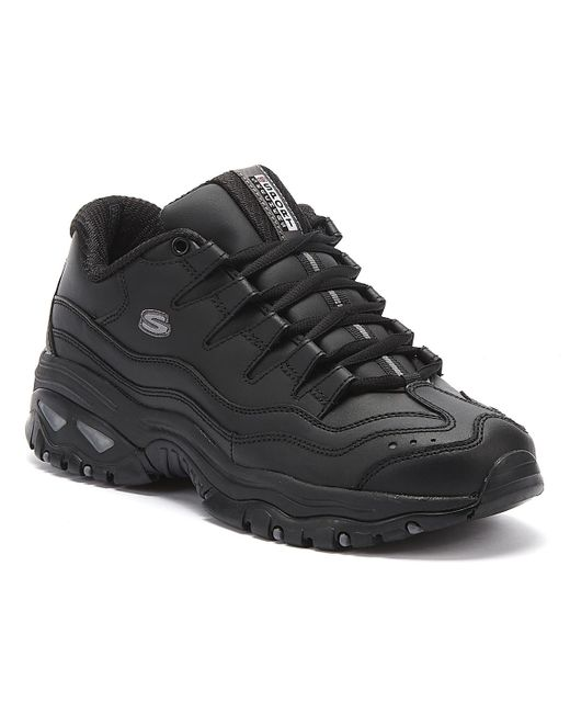 Skechers Energy Womens Black Trainers