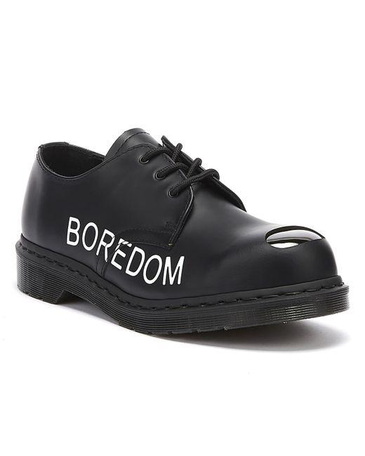 Dr. Martens Dr. Martens Sxp 1925 Sex Pistols Black Smooth Shoes for men