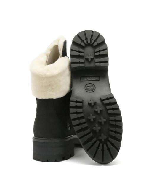 7f0bec486a0 Courmayeur Valley Womens Shearling Black Boots