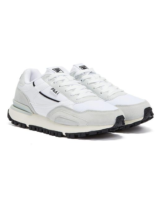 Fila White Mane Unisex / Grey Trainers