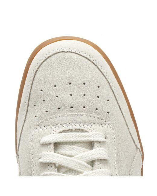 Gel-vickka Trs Cream Gray Suede Womens Sneakers