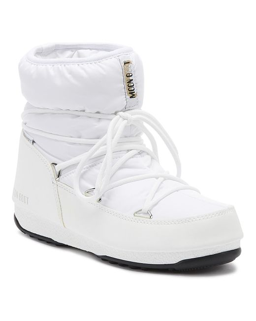 Moon Boot White Low Nylon Waterproof 2 Boots