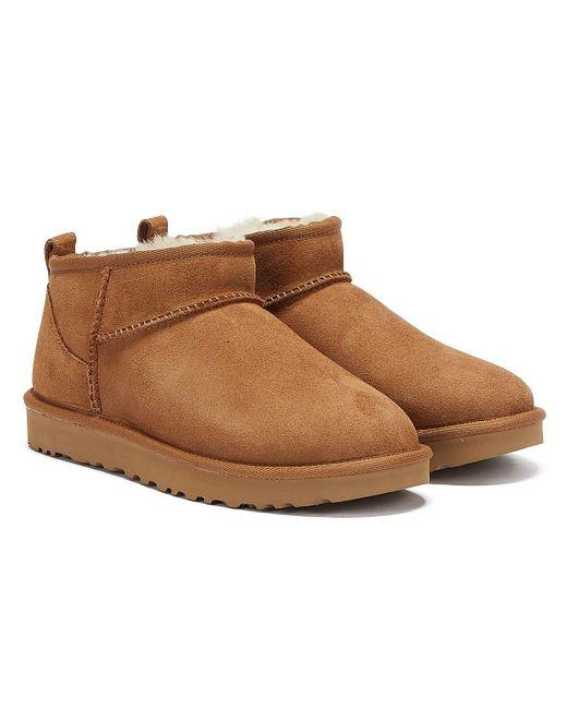 Ugg Brown Classic Ultra Mini Boot