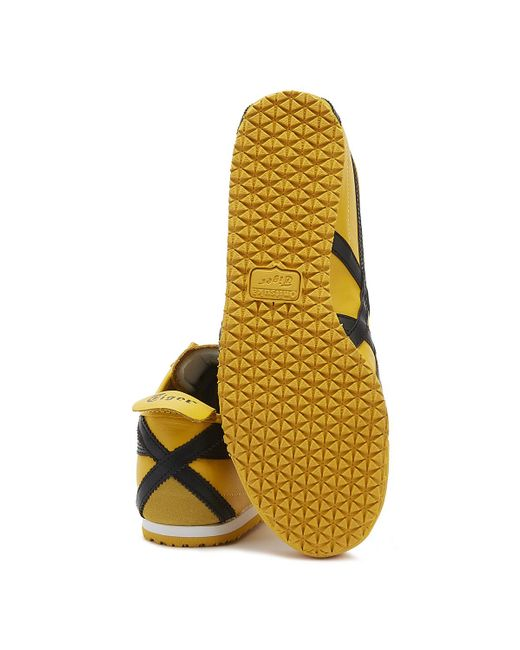 separation shoes 0f4d9 922be Mexico 66 Mens Yellow / Black Sneakers