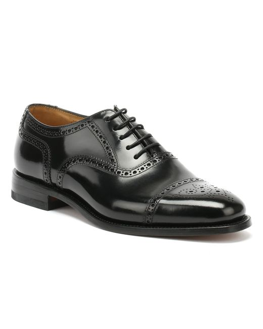 Loake 201b Brogue Mens Black Shoes for men