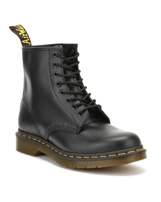 Dr. Martens Dr. Martens 1460 Smooth Womens Black Leather Boots