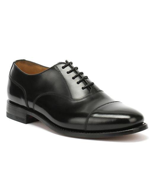 Loake 200b Polished Leather Black Dress Shoes for men