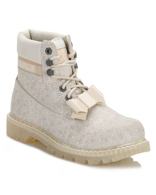 Caterpillar - Womens White Colorado Curtsy Boots - Lyst
