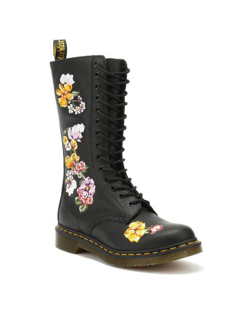 Dr. Martens Black 1914 Vonda Ii High Boots