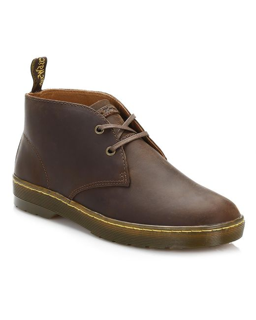 Dr. Martens Dr. Martens Cabrillo Mens Gaucho Brown Desert Boots for men