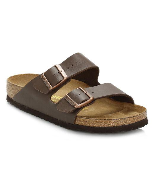 Birkenstock Brown Men's 'arizona' Double Strap Sandals for men