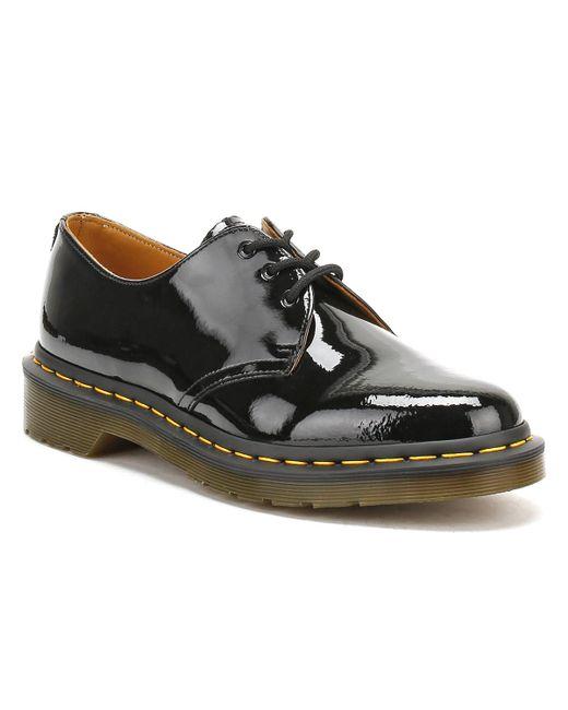 Dr. Martens Black 1461 Patent Lamper 3-eye Shoes