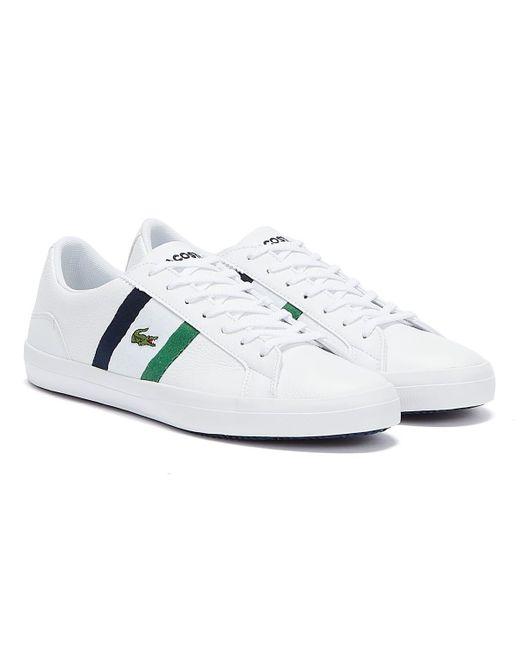 Lacoste Lerond Weiße Sneakers in White für Herren
