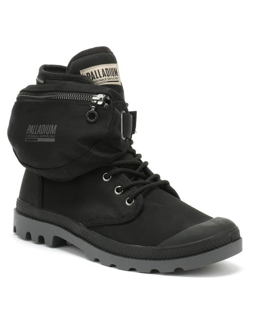 Palladium Pampa Solid Ranger Tp Black Boots for men
