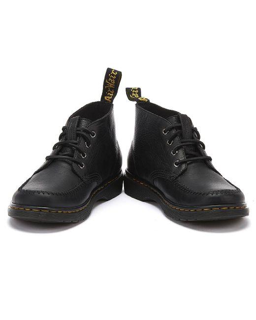 mens black dr martens boots