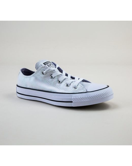 0509f4801c59 Converse - Blue 561712c Ct As Ox White-white-black Trainers - Lyst ...