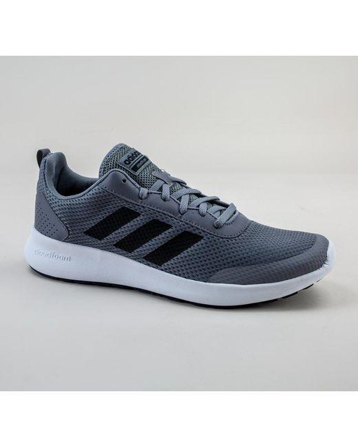 1742dc84f Adidas - Blue B44861 Argecy Grey-black Trainers for Men - Lyst ...