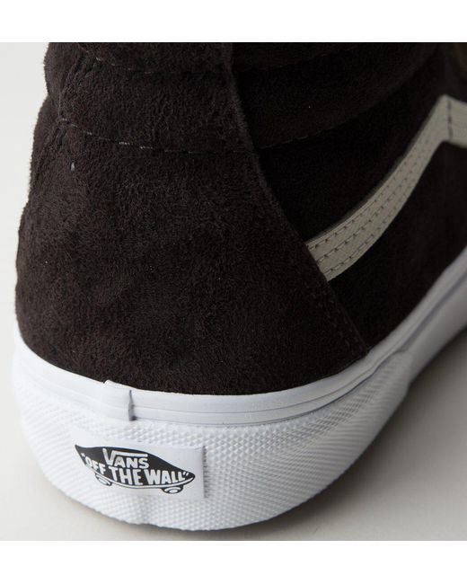 e2cb0b7a982963 ... Vans - Black Sk8-hi Mte Vn0a33txqww Dark Earth-sea Brown Trainers for  Men ...