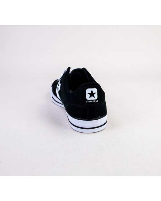 ... Converse - Blue 161595c Star Player Ox Black-white-white Trainers for  Men ... b05822807