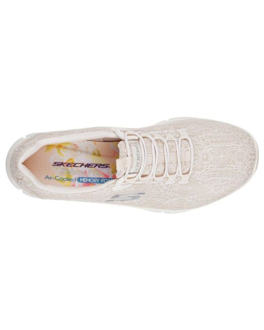 870526d724d0 ... Skechers - White Empire Spring Glow Trainers - Lyst ...