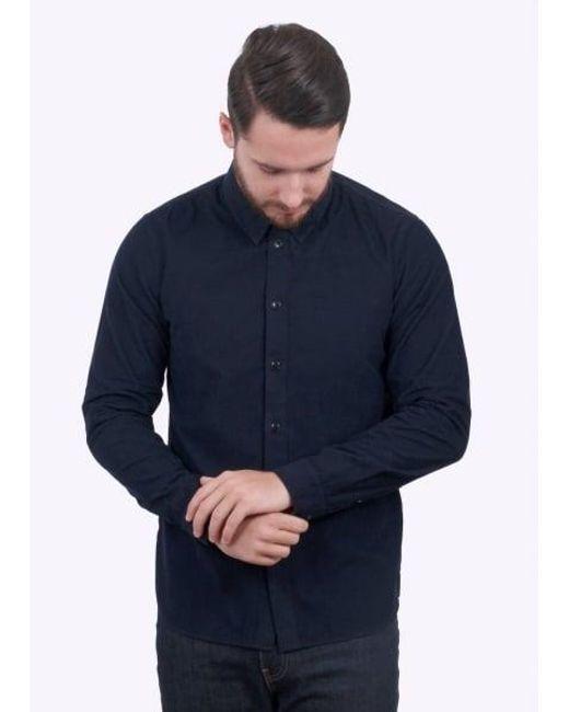 Folk | Blue Baby Cord Shirt for Men | Lyst