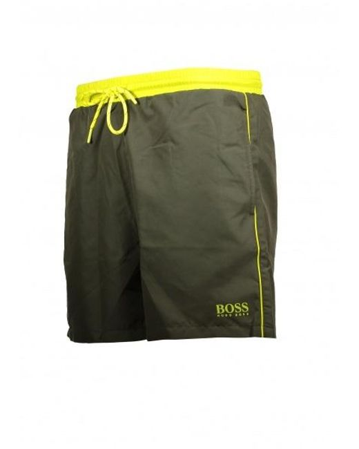 aa17279e19 ... BOSS - Green Starfish Shorts 301 for Men - Lyst ...