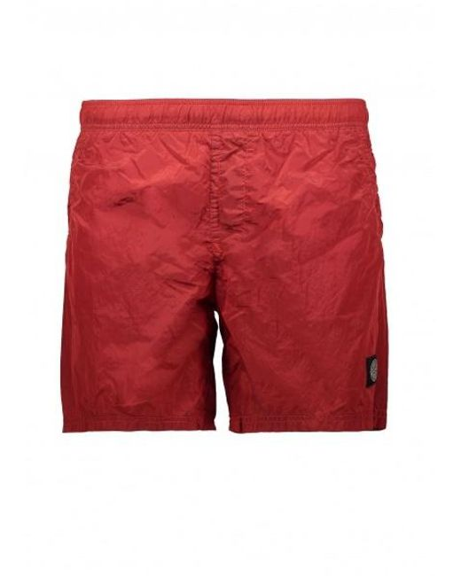 e012e1694e Stone Island - Red Swim Shorts for Men - Lyst ...