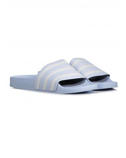 ae78a245eccc ... Adidas Originals - Blue Adilette for Men - Lyst ...