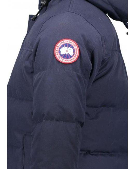 399dad75c71 Canada Goose Goose Macmillan Parka in Blue for Men - Lyst