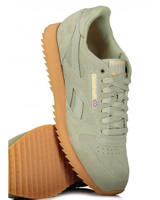 ... Reebok - Green X Montana Cans Cl Leather for Men - Lyst ... 7d0e20a21