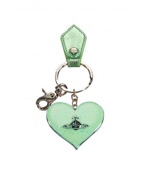 d3866e87e9 Vivienne Westwood - Green Mirror Heart Gadget - Lyst ...