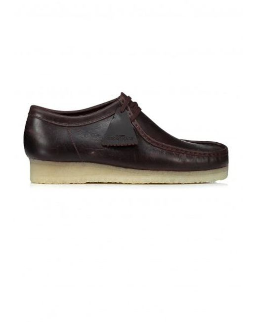Clarks | Brown Wallabee Leather for Men | Lyst