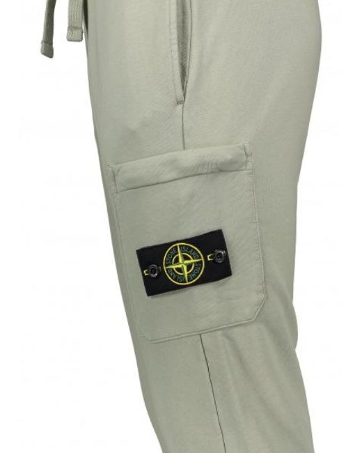 16e267c2 ... Stone Island - Green Sweat Pants for Men - Lyst ...