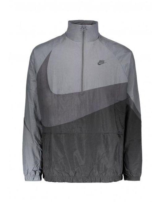 Nike Black Nsw Vw Swoosh Halfzip for men