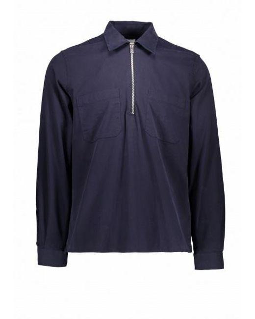 d82767bc Paul Smith - Blue Casual Ls Zip Shirt for Men - Lyst ...