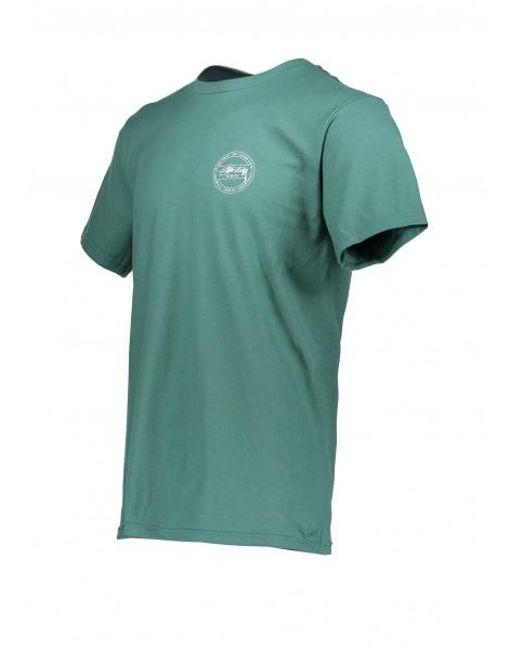 59fdafe620d ... Stussy - Green Laguna Dot Tee for Men - Lyst