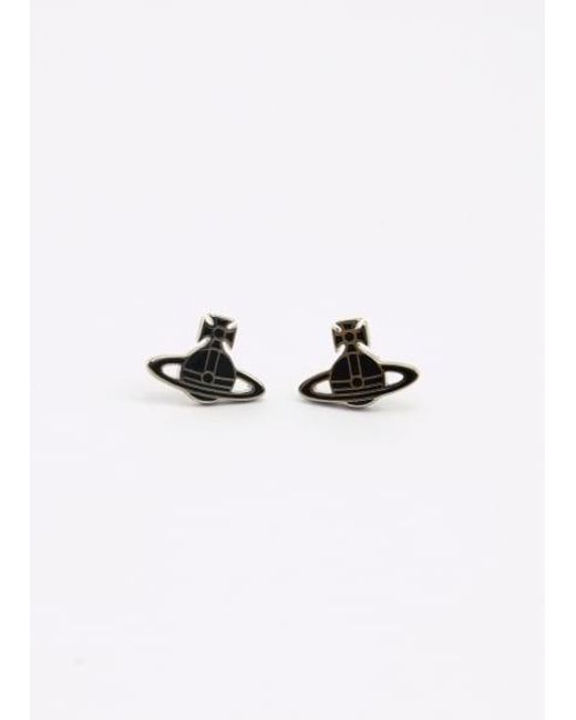 Vivienne Westwood - Kate Earrings Palladium/black Colour: Bl - Lyst