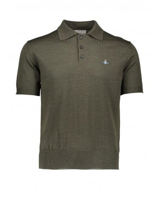 c5b516a01 Vivienne Westwood - Green Knit Polo for Men - Lyst ...