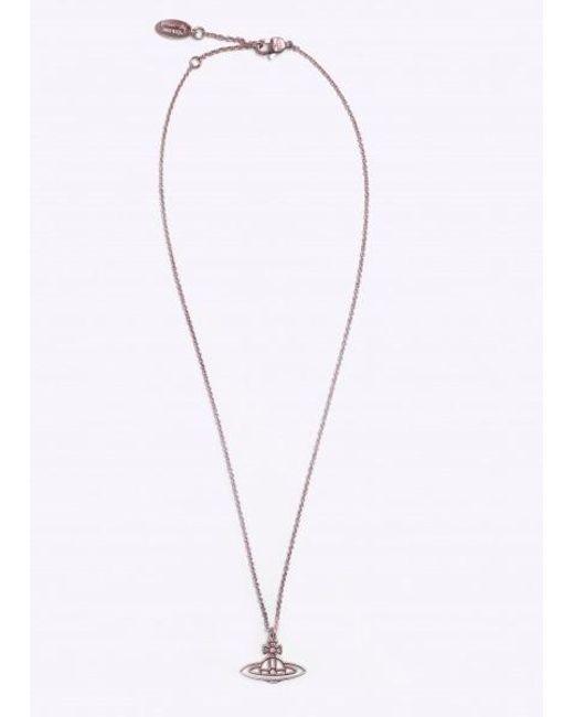 Vivienne Westwood - Metallic Thin Line Flat Orb Pendant - Lyst