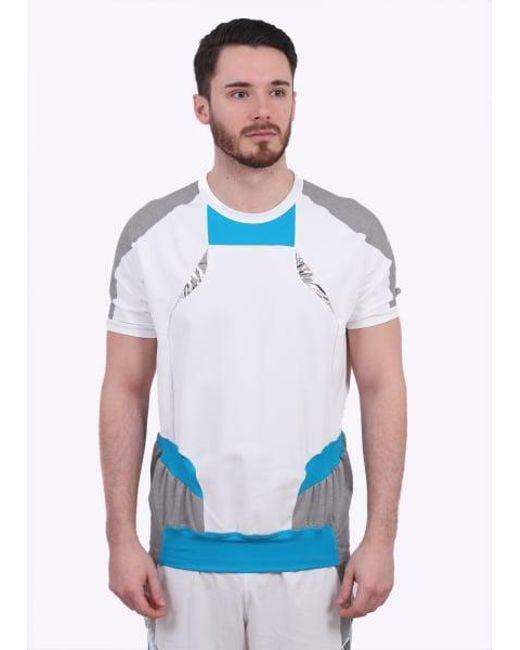 Adidas Originals - Gray Ss Hybrid for Men - Lyst