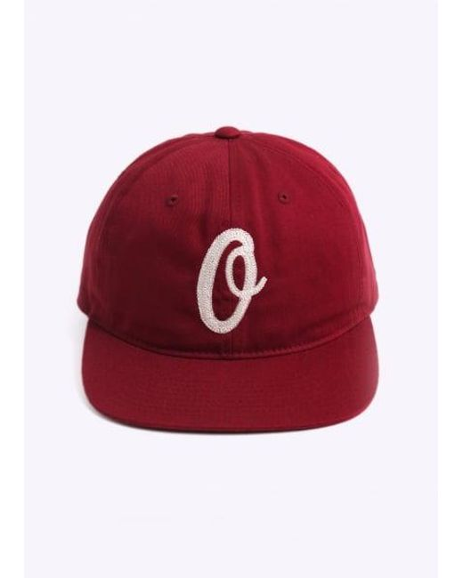 Obey | Red Bunt 6 Panel Hat for Men | Lyst