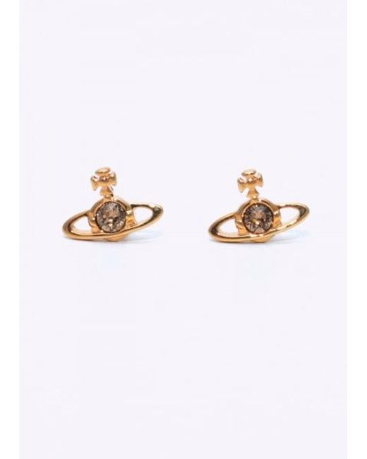Vivienne Westwood - Metallic Nano Solitaire Earrings - Lyst