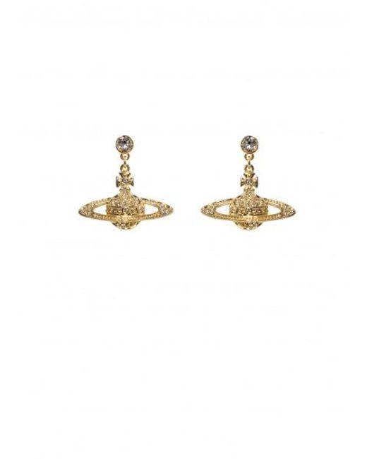 Vivienne Westwood - Metallic Bas Relief Drop Earrings - Lyst