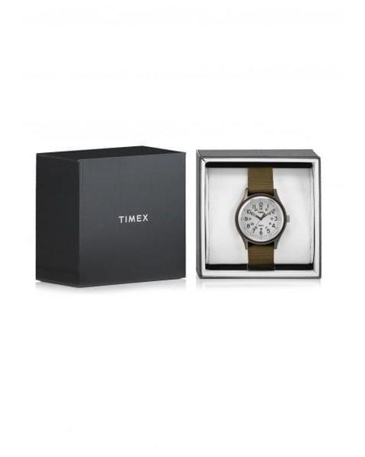 f782a1cf8 ... Timex - Green Mk1 Aluminum Watch for Men - Lyst