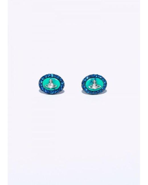 Vivienne Westwood - Blue Giselle Earrings - Lyst