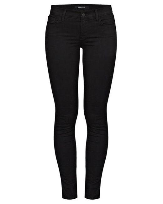 J Brand Black 811 Skinny Jean In Vanity